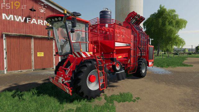 FS21 harvester mods