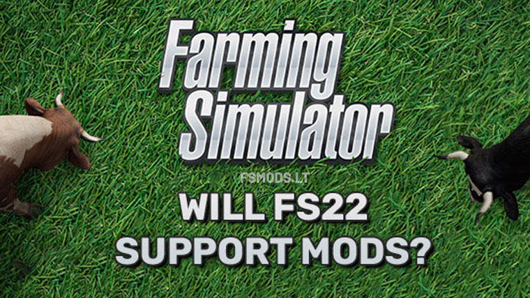 Will FS22 support mods?