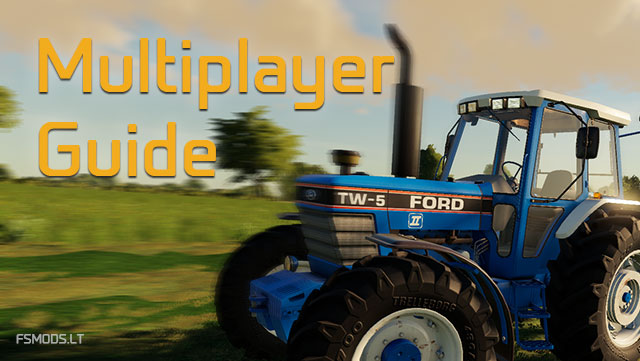 Completely FS22 Multiplayer guide