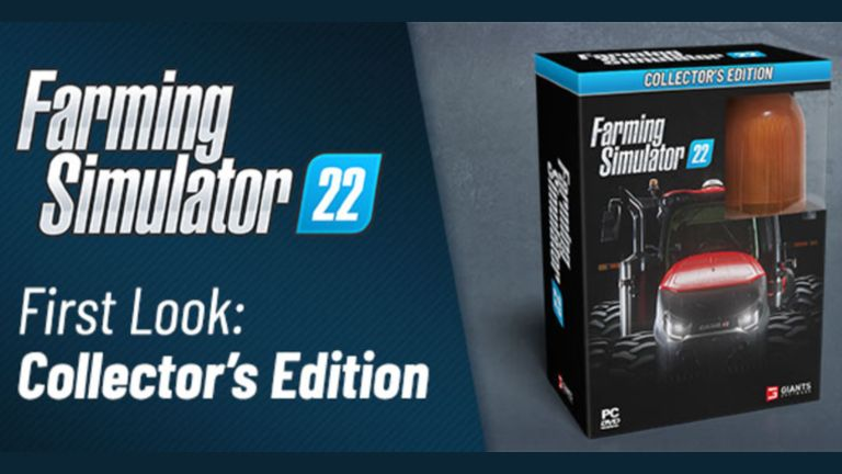 First look of FS22 Collector's Edition