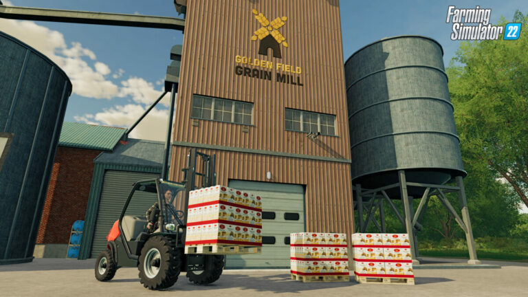 Production chains in Farming Simulator 22