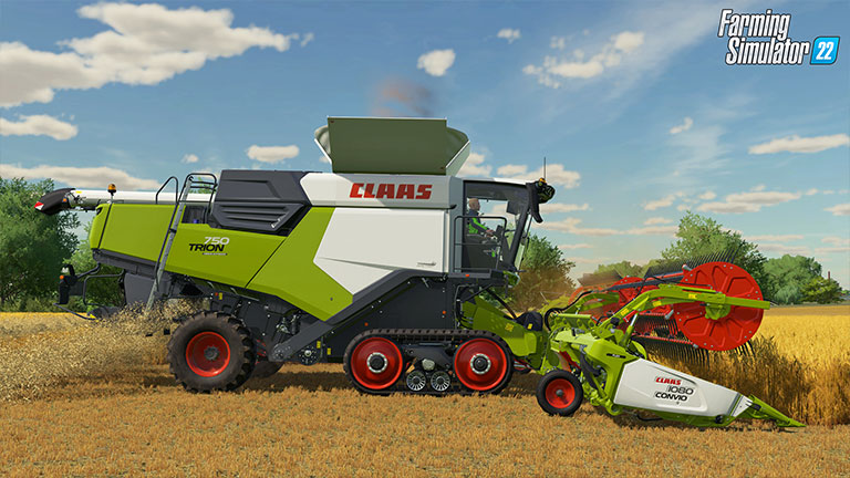 The new CLAAS TRION is coming to Farming Simulator 22