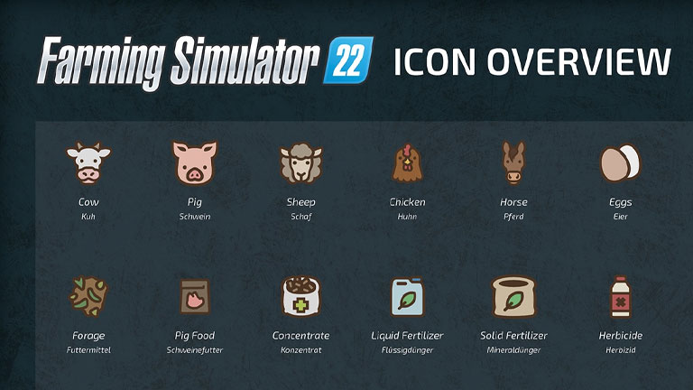 FS22 Icons overview